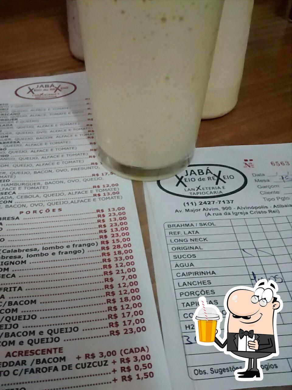 Desfrute de uma bebida no Jabá Xeio de Rexeio Lanxeteria
