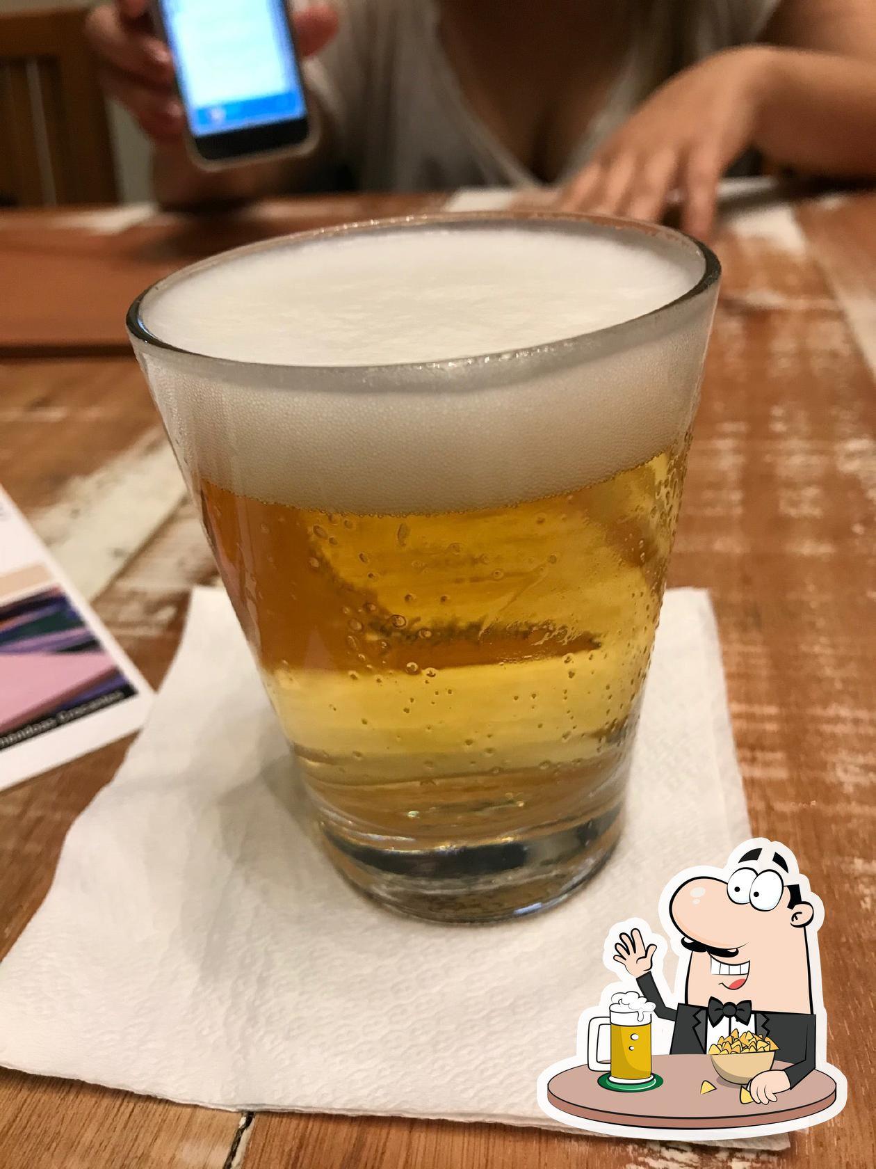 Desfrute a seleção de cervejas