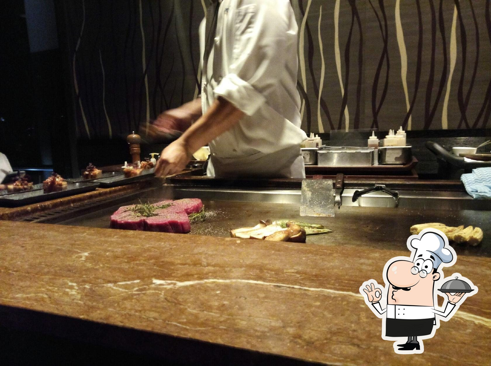 The chef will satisfy the taste of foodies