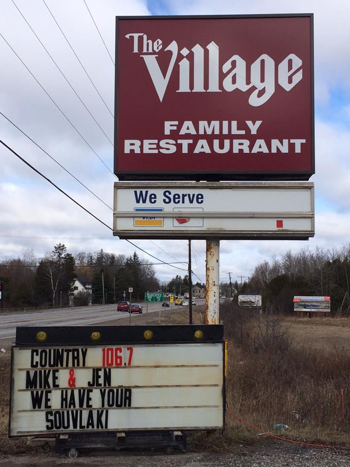 Read the information about Village Family Restaurant
