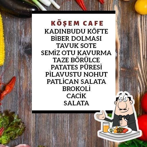 Meals at Köşem Cafe & Restaurant & Bar