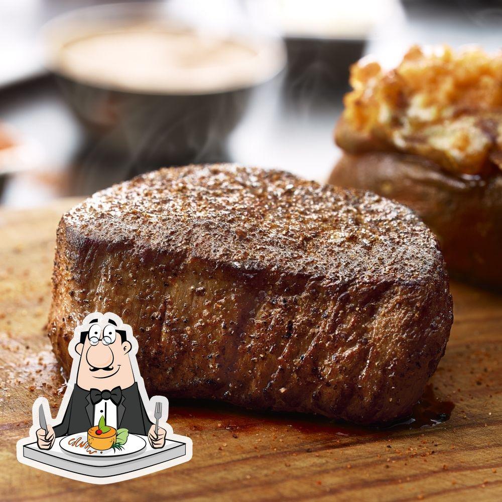 """Еда в """"LongHorn Steakhouse"""""""