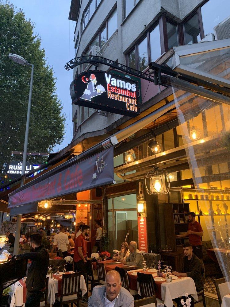 Here's the advertisement of Vamos Estambul Restaurant & Cafe