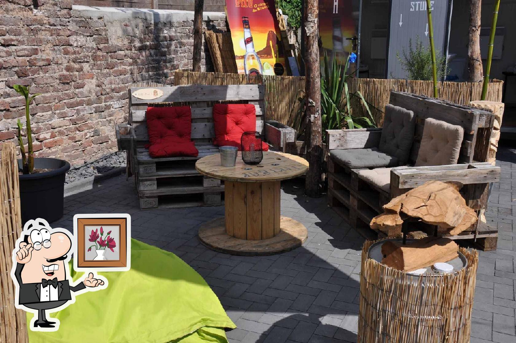 Die Inneneinrichtung von Tiki Bar Xanten