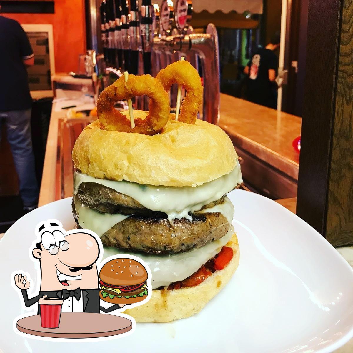 Dégustez l'un des hamburgers servi à Rolling Steaks