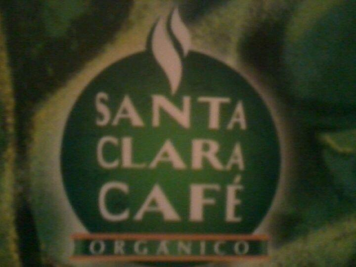 A representação visual da marca do Santa Clara Cafe