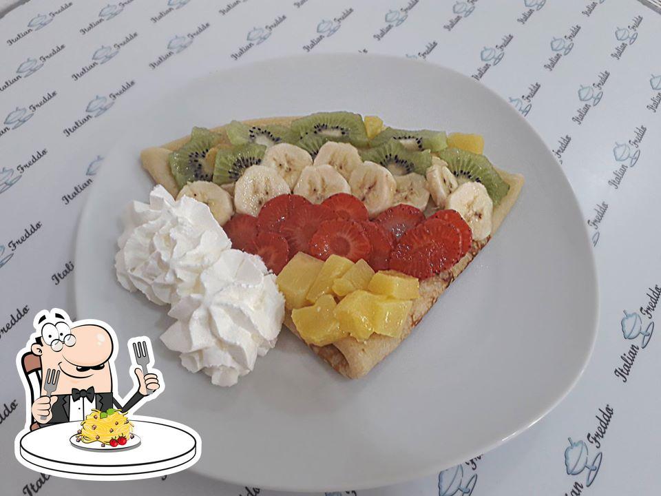 Food at Italian Freddo
