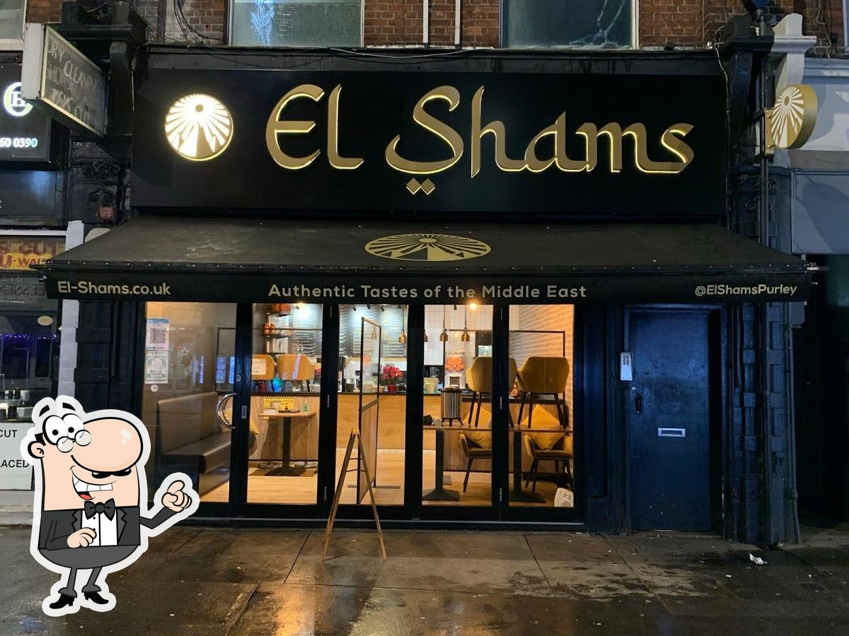 Enjoy the view at the outside area of El Shams