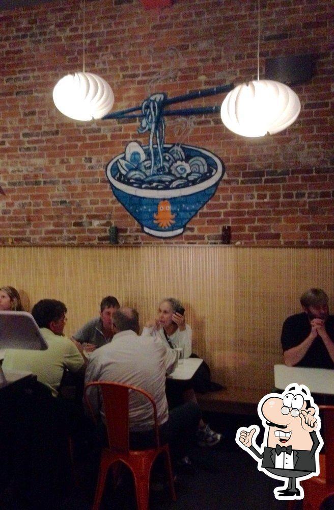 The interior of Little Big Diner