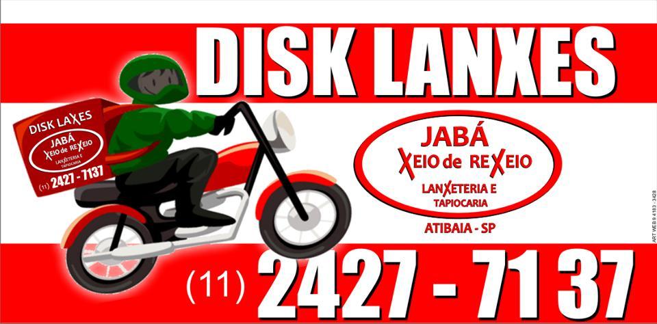A publicidade mostra informações sobre o Jabá Xeio de Rexeio Lanxeteria