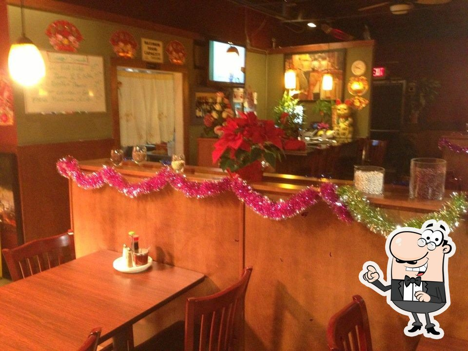 Take a seat at one of the tables at Asian Kings Kitchen
