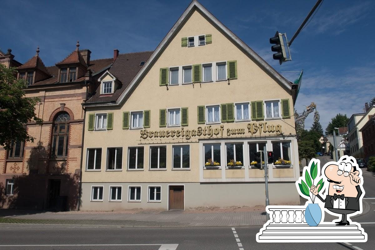 L'espace ouvert est une importante caractéristique de Brauereigasthof zum Pflug