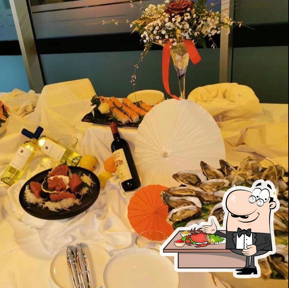 Gli ospiti di Kyoo sushi restaurant (A La Carta) possono godersi diversi piatti di mare