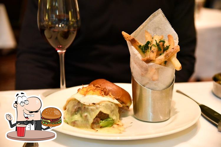 The Capital Grille's burgers will suit a variety of tastes