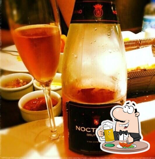 """""""Santa Grelha Meireles"""" предлагает богатый выбор сортов пива"""