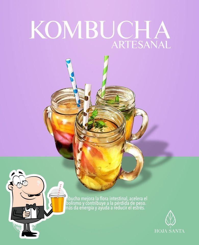Hoja Santa offers a range of drinks