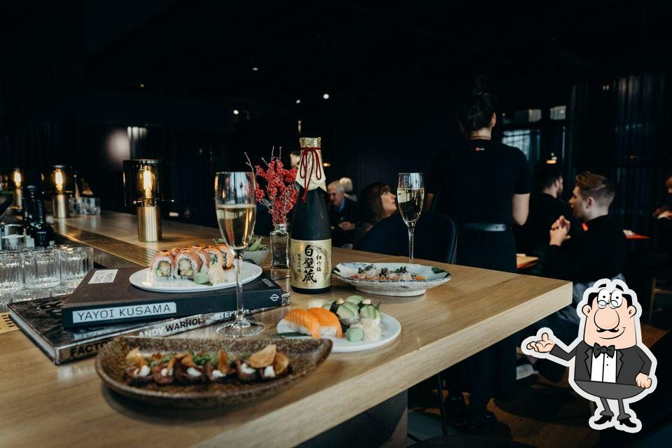 Check out how Sticks'n'Sushi looks inside