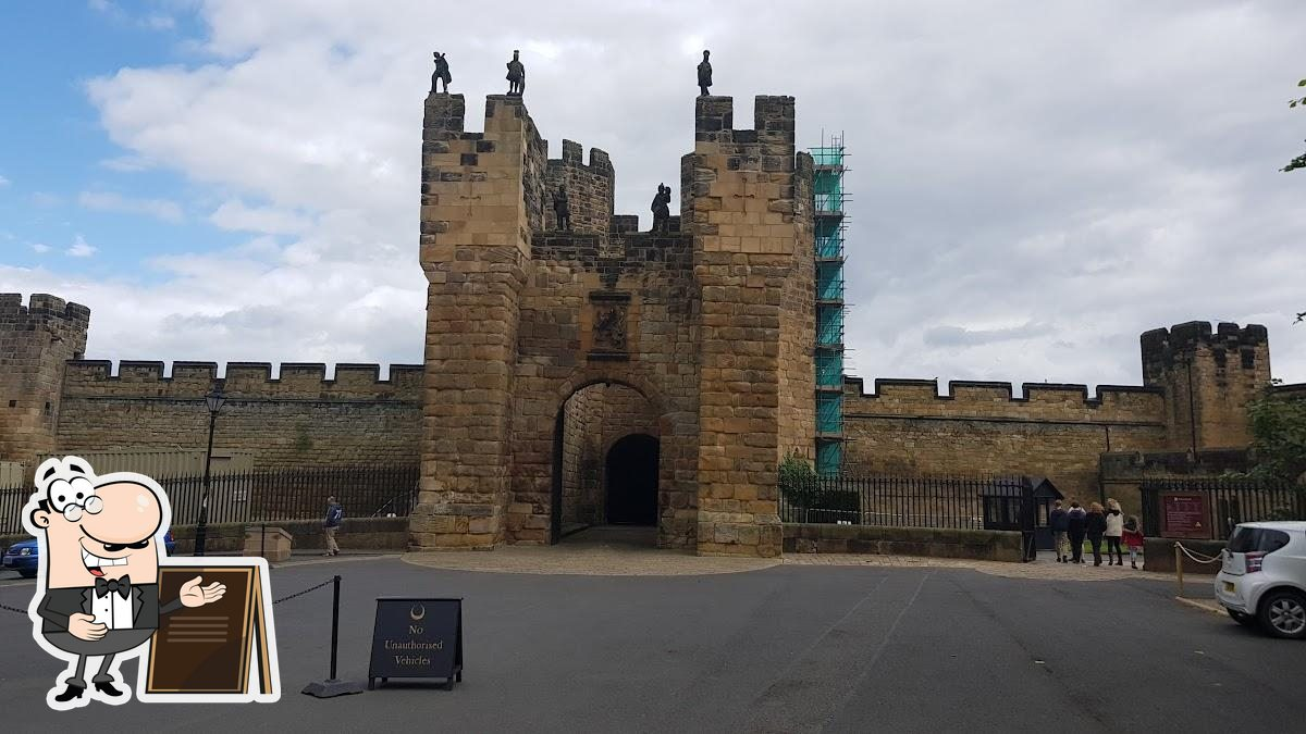 Check out how Alnwick Castle looks outside