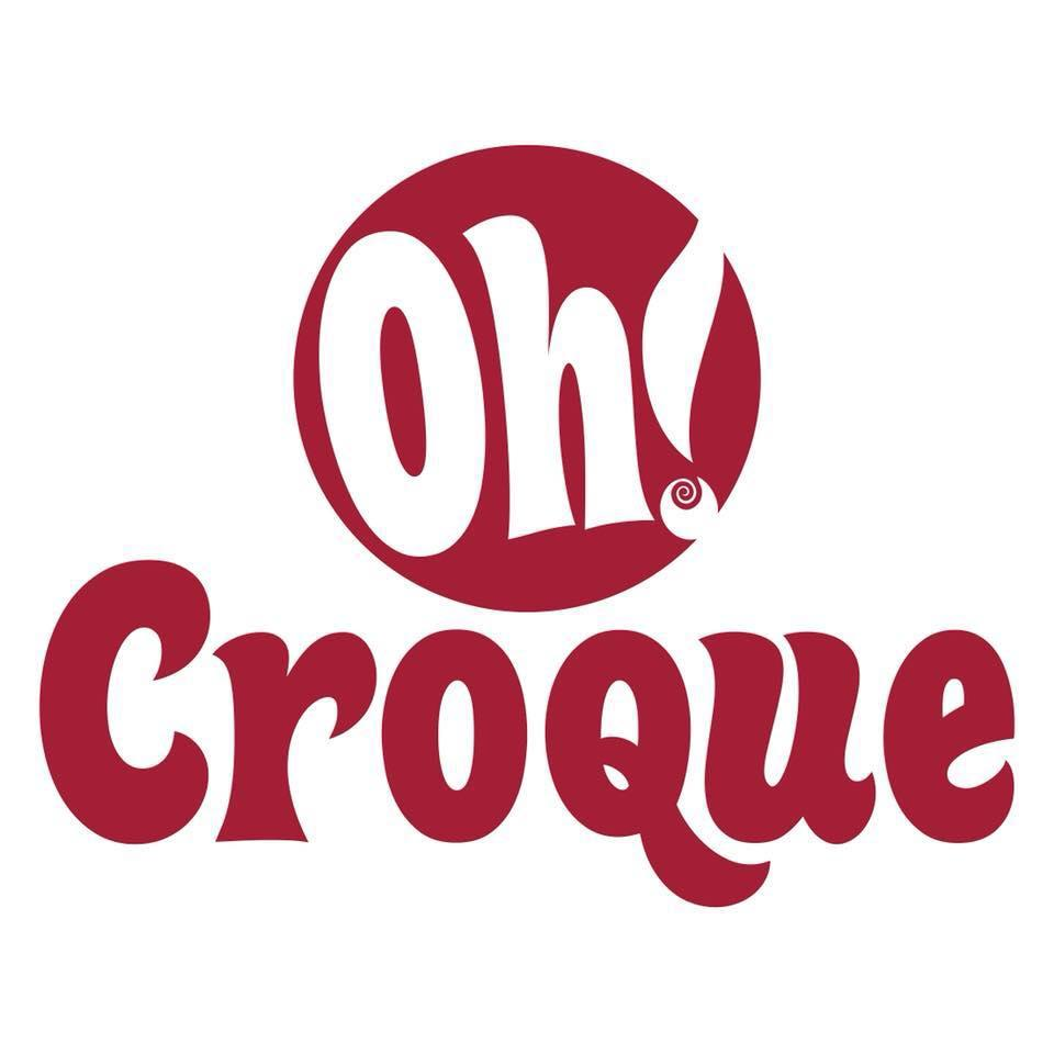 The logo of Oh! Croque