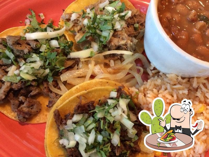 Food at Don Mario Mexican Restaurant
