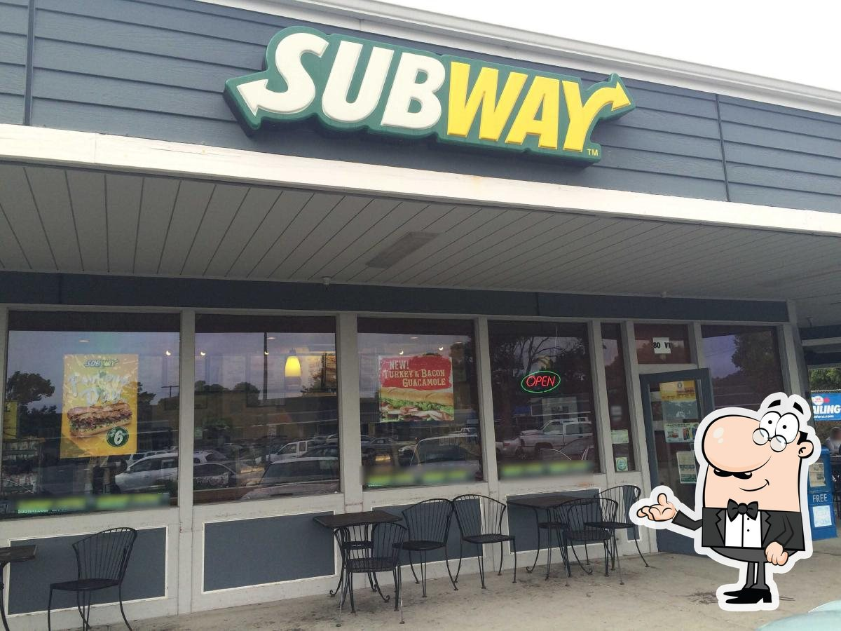 Check out how SUBWAY looks inside