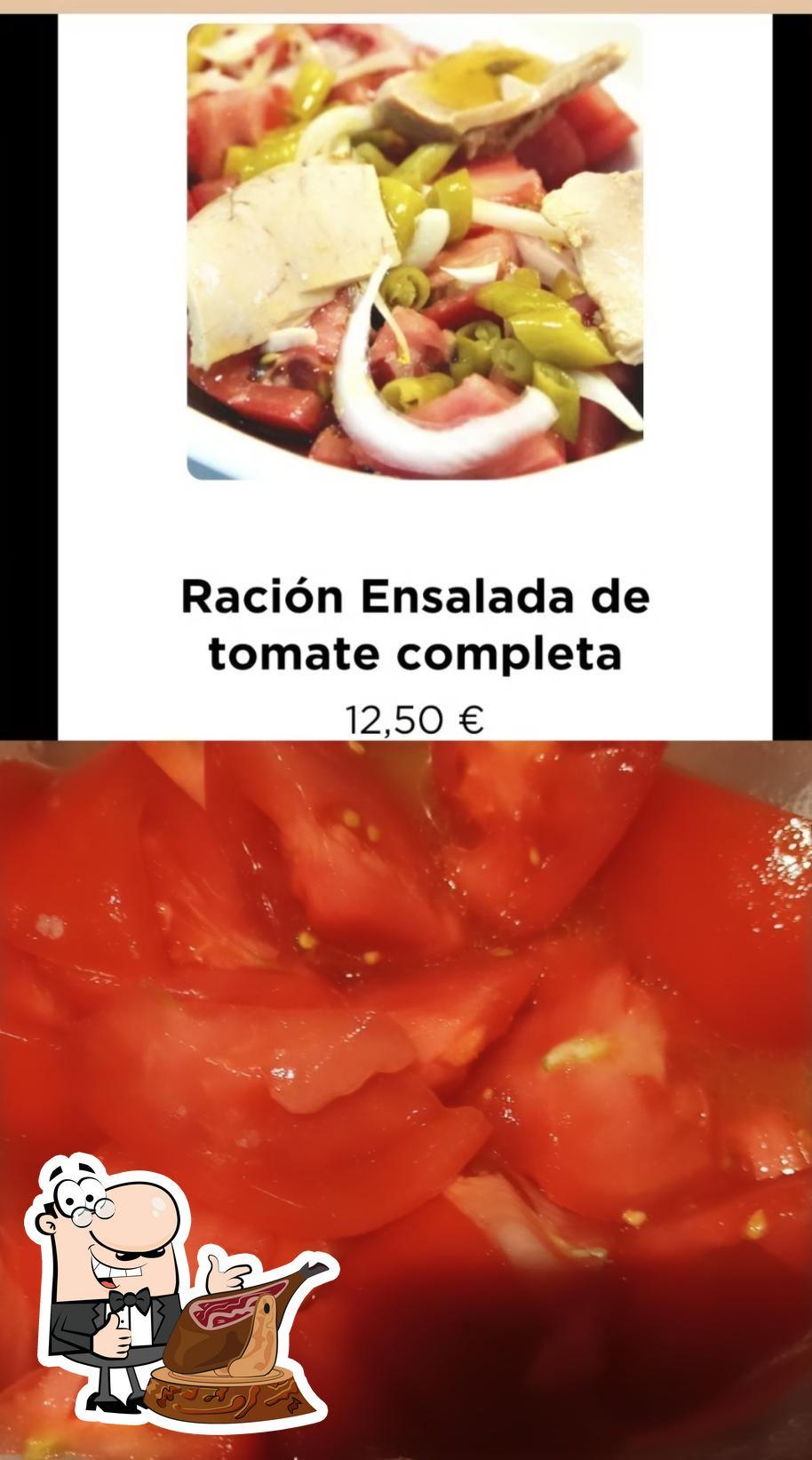 Comida en Bodega Donostiarra