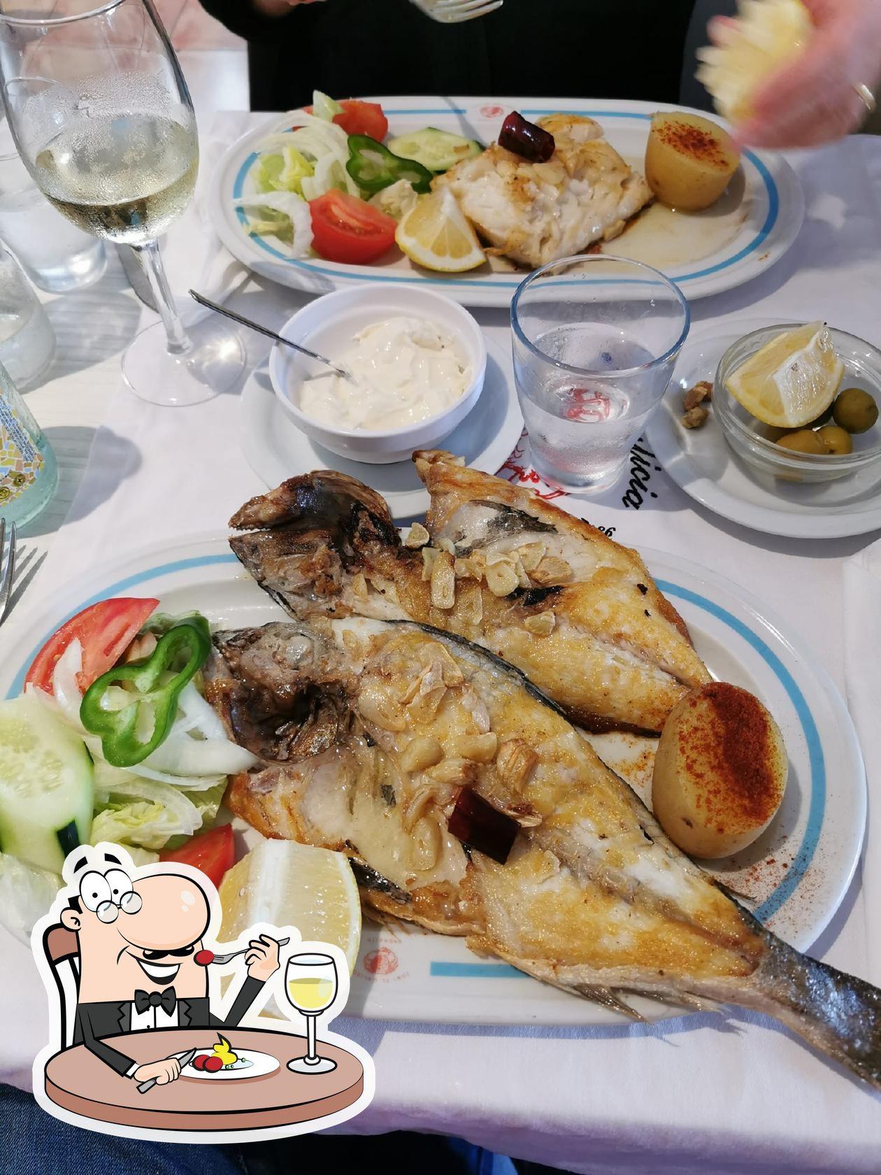 Meals at Marisquería Galicia