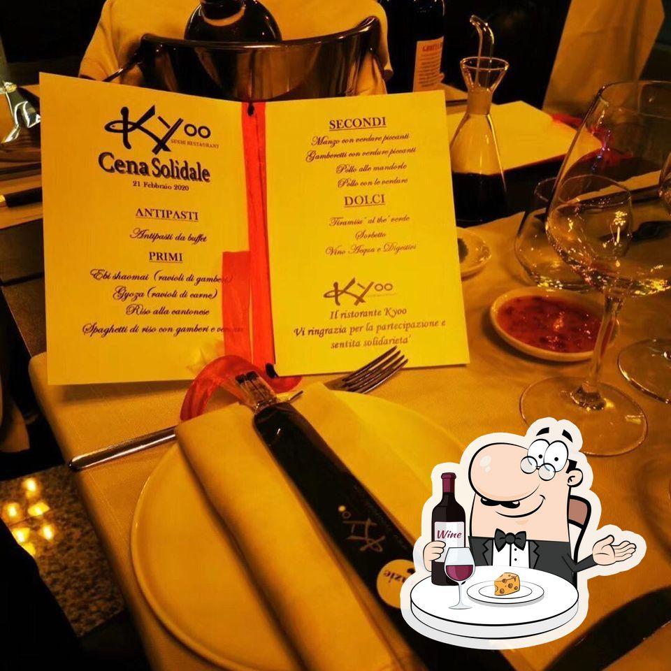 Prova il vino di Kyoo sushi restaurant (A La Carta)