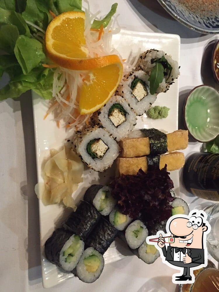 Choisissez de nombreuses options de sushi
