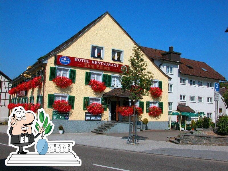 The exterior is an important feature of Zum Löwen