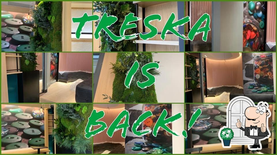 Puoi goderti l'aria fresca dal dehors di Treska