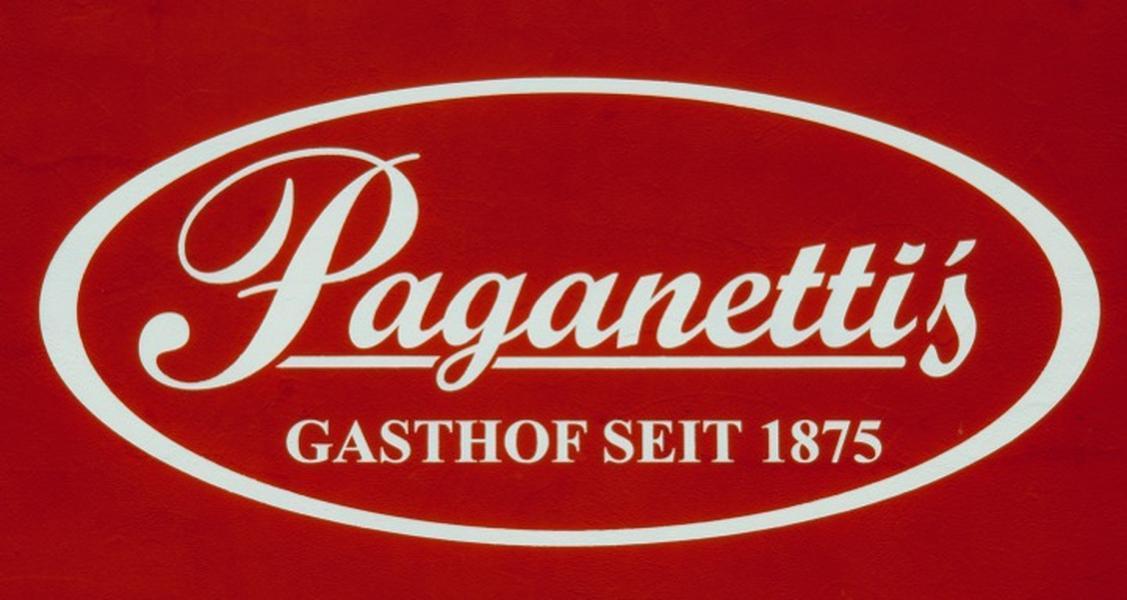 """Paganetti's """"zur Erholung"""" hat eine eigenes Logo"""