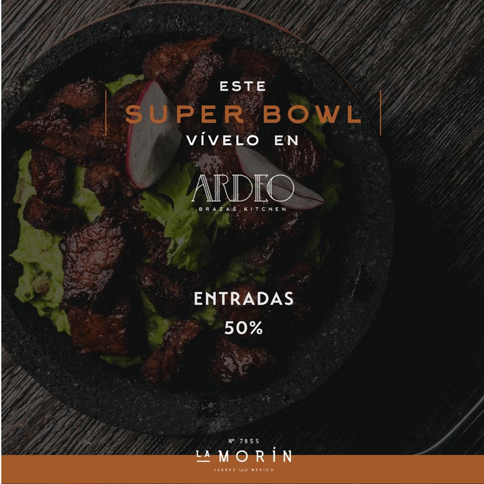 The advertisement shows information about ARDEO