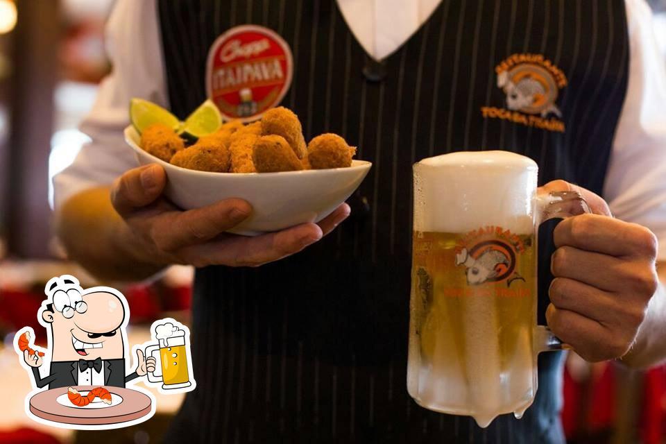 Desfrute de uma cerveja com seu jantar
